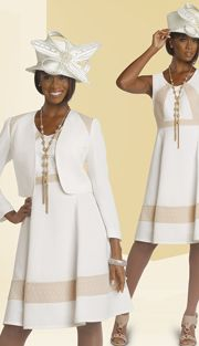 CH25140-WB-IH,Chancelle Church Attire Spring And Summer 2015