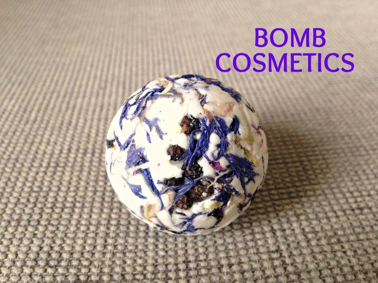 Review: Bomb Cosmetics 'Cornflower