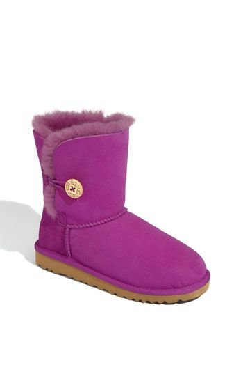 Not technically flats, but close. Love the fun color and adore the button Uggs.