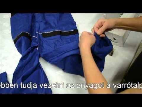 Varrótanfolyamok - Hogyan kell felhajtani a nadrág szárát