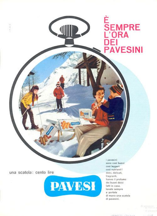 biscotti Pavesini - Erberto Carboni 1964