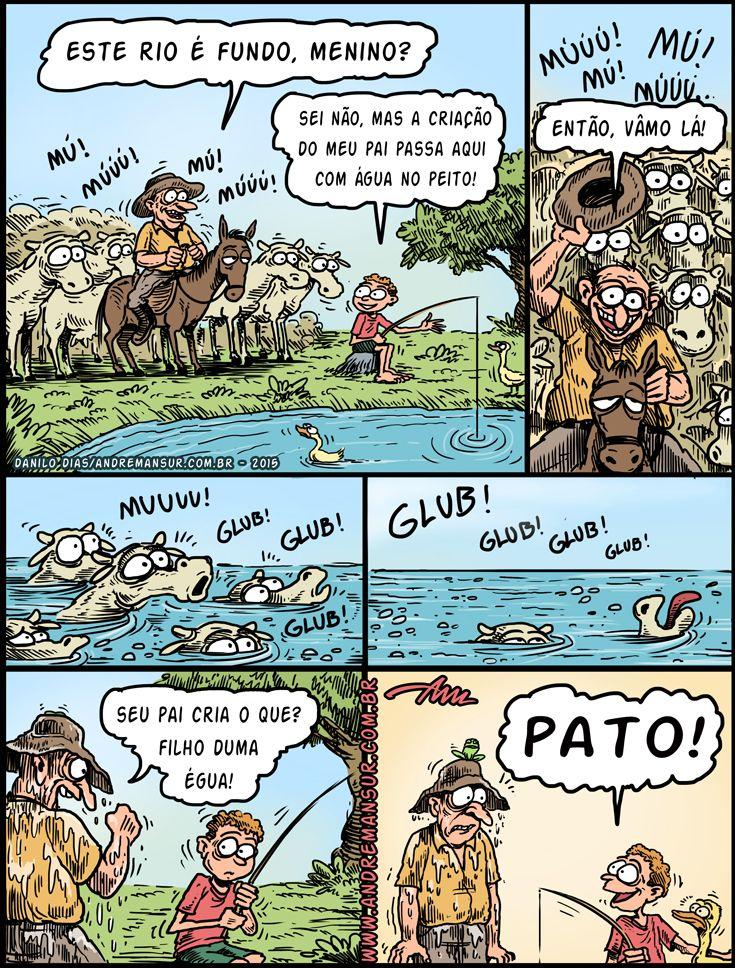 Criação de Patos...