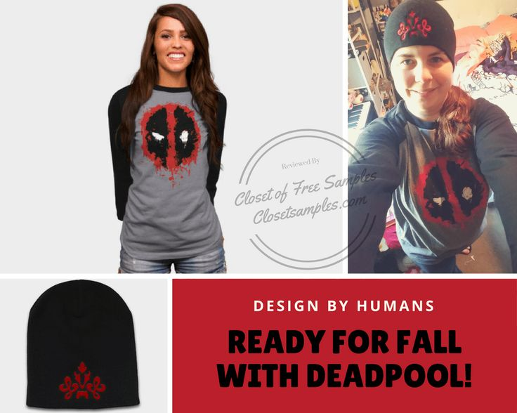 """★★★ 🅽🅴🆆 ★★★ Ready for Fall with Deadpool at Design By Humans! #Review:  Am I the only one who is the stereotypical """"white girl"""" when it…"""