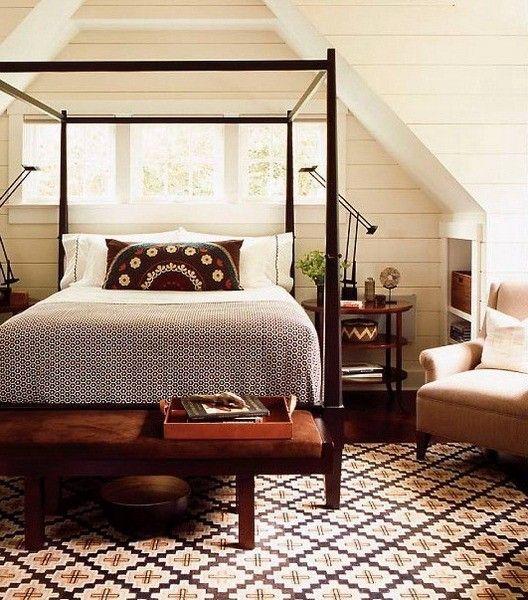 Варианты темной мебели для интерьера спальни