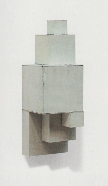 Mel Bochner, 6 Part Vertical Progression, 1966