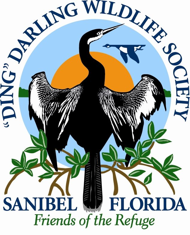 """J. N. """"Ding"""" Darling National Wildlife Refuge is located on the subtropical barrier island of Sanibel in the Gulf of Mexico"""