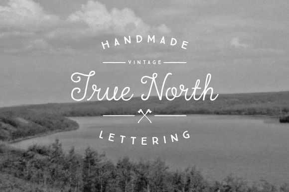 True North Font Pack by Cultivated Mind on Creative Market