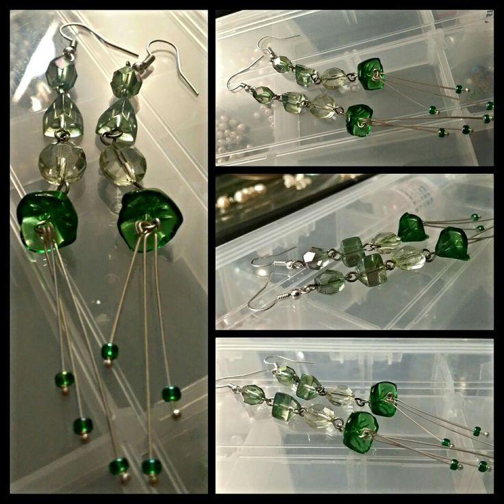 Fantasy earrings by Glaetzer Jewellery Kreations  https://m.facebook.com/GlaetzerJewelleryKreations/