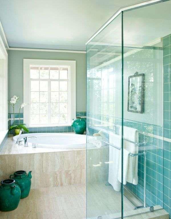 Oltre 25 fantastiche idee su bagno turchese su pinterest for Piastrelle bagno turchese