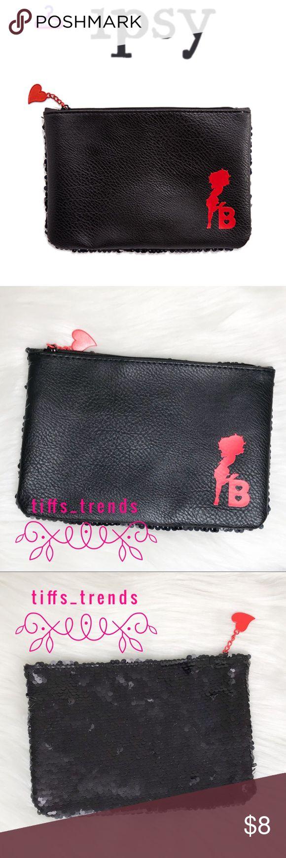 NWOT•IPSYxBetty Boop Makeup Bag Betty Boop x Ipsy Makeup