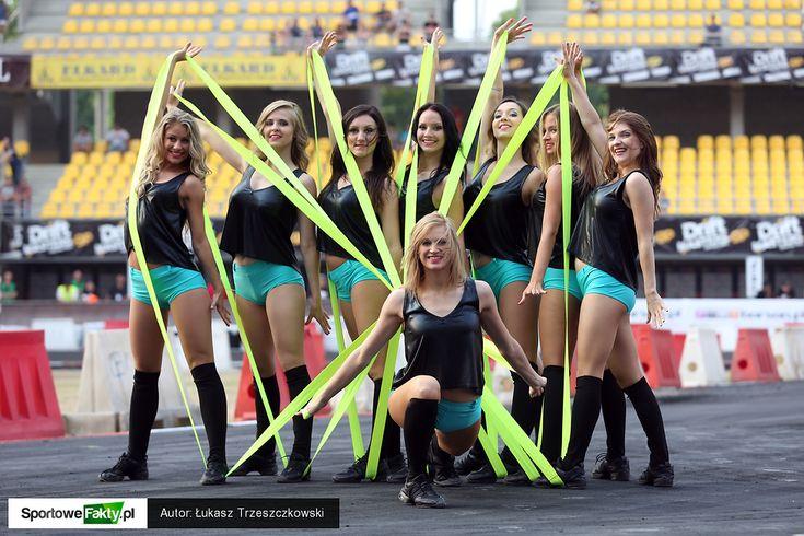 Cheerleaders FLEX Sopot na Drift Masters Grand Prix w Toruniu