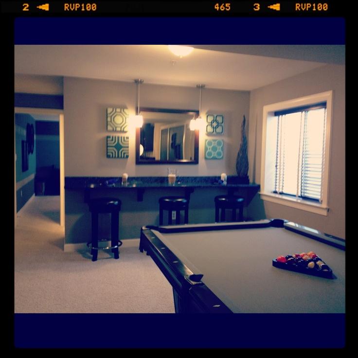 Pool Table Room, Basement