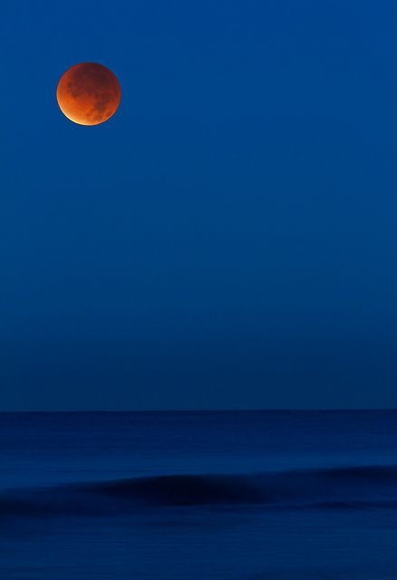 Lunar Eclipse as viewed from Carlsbad, California (December 10, 2011) Click through for larger image.