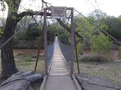 Wichita Falls Tx Suspension Footbridge