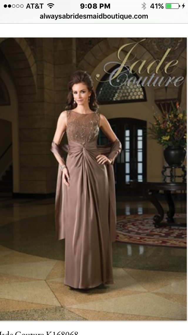 Jade Couture Mothers Dresses