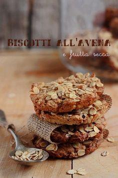 MIEL & RICOTTA: Biscotti all'avena e frutta secca