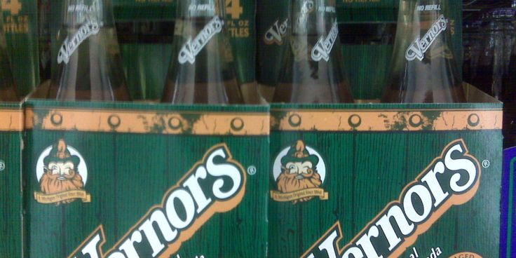 Vernors: you're totally allowed to drink it with ice cream, it cures stomach aches and Amy Poehler likes it....