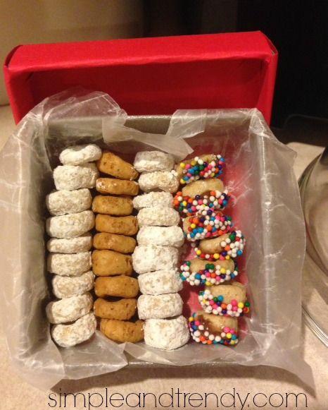Elf on the Shelf Idea | Mini Elf Donuts | Simple & Trendy