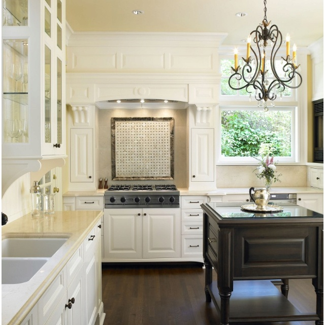 Kitchen Sink With Backsplash: Kitchen Backsplash Behind Sink Idea