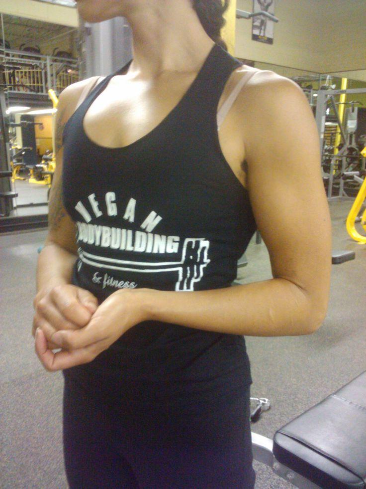Nice Vegan Bodybuilding Shirt