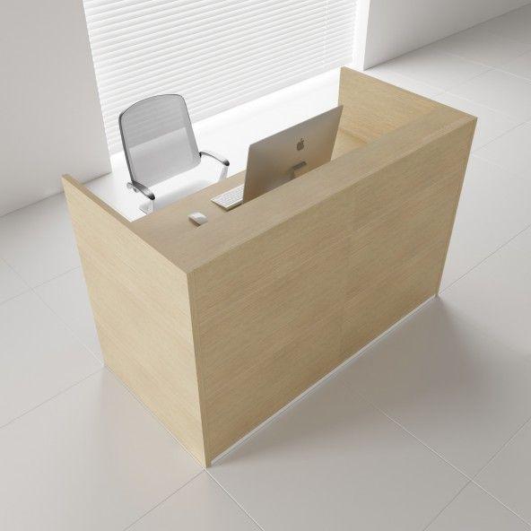 Tera Medium Reception Desk Tandlakare Mobel