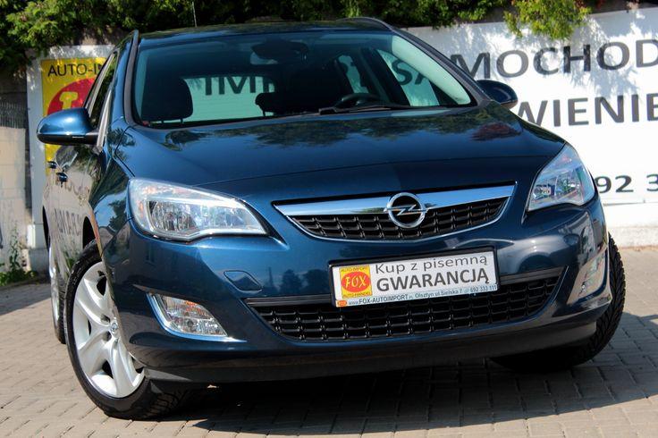 Opel Astra J 1.7 CDTI 125KM