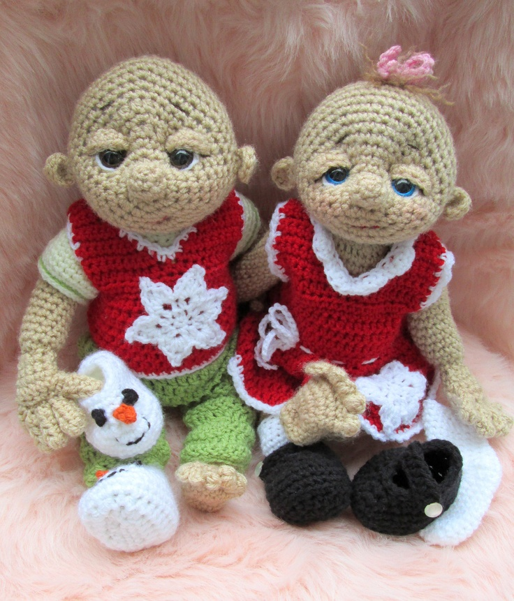 So Cute Baby Doll Loving Snow Clothes Set, PDF Format, Crochet Pattern. $2.49, via Etsy.