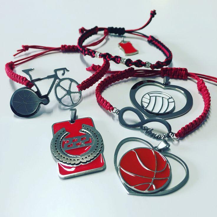 Tony Cairoli bike Mx bracelet necklace Made in Italy