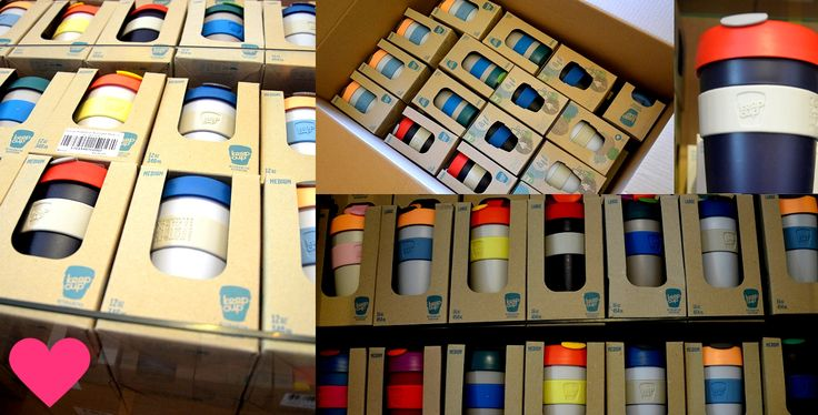 KeepCup Milujito warehouse <3