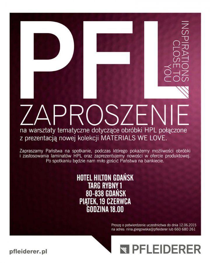 warsztaty dla architektów, Gdańsk, obróbka HPL, #materialswelove, #pfleiderer