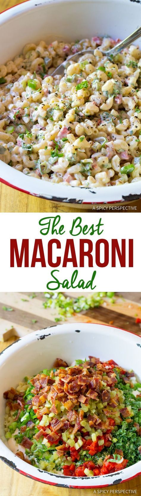 Truly The Best Macaroni Salad Recipe   ASpicyPerspective...