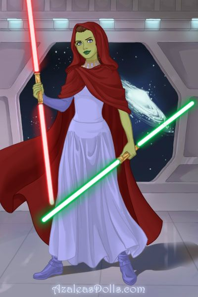 Me as a Jedi from Star Wars