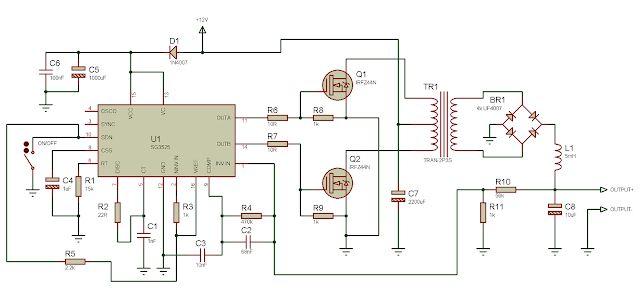"Using an ATX transformer ""backwards"" to get high voltage ..."