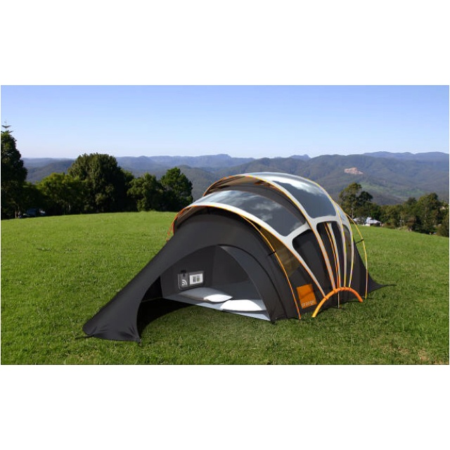 Solar tent! I would even go c&ing if I had this.  sc 1 st  Pinterest & 12 best Mobile Art Tents images on Pinterest | Campsite Tents and ...