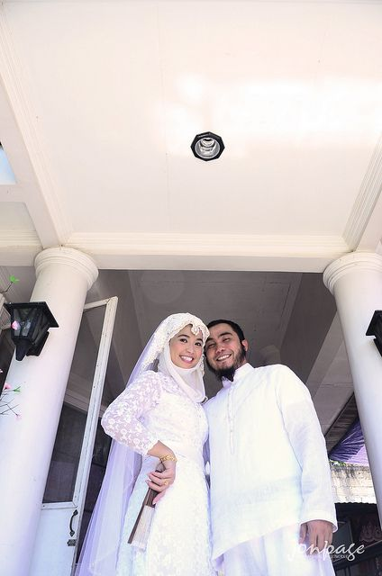 "A muslim couple during their ""pagkawin""..."