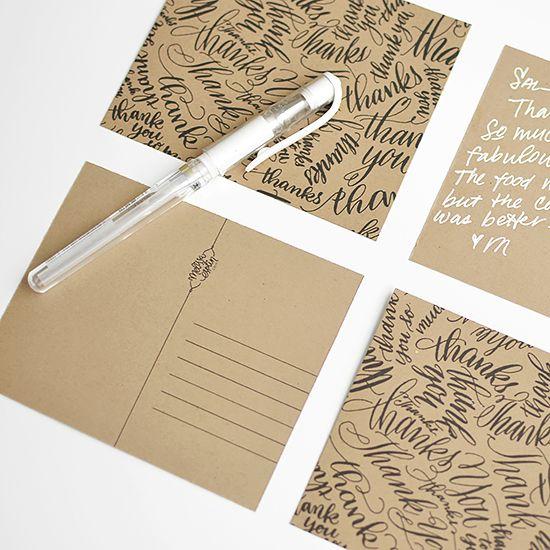 Free printable Thank You postcard  I Still Love You by Melissa Esplin: Sponsored: 2013 Thank You Printable