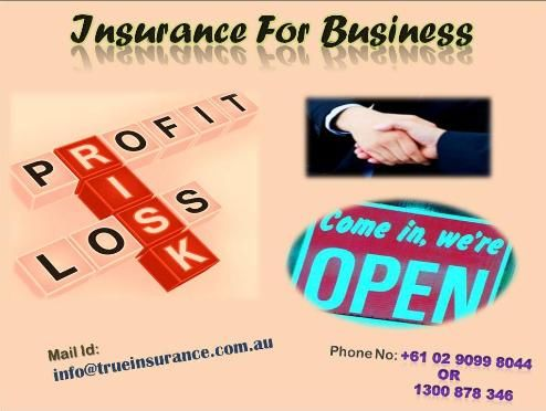 Make secure your business with a cheap business insurance policy, there are various insurance companies in Australia provide different types of business insurance plans. You can choose any plan according to your industry and you can also compare their plans to choose the best one for your company. To know more about insurance for business click on  http://www.trueinsurance.com.au/business-insurance/