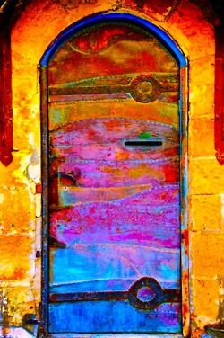 Gorgeous boho door!