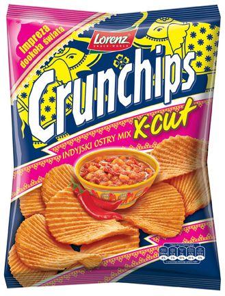 Indyjski mix - najlepszy na podróż dookoła świata! ;) #Crunchips #chips #spicy #chutney