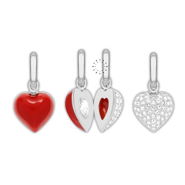 Κρεμαστό Alana 2 in 1 Heart Charms Swarovski  69€  http://www.kosmima.gr/product_info.php?manufacturers_id=62_id=18411