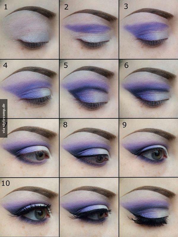 Traumhaftes Augen Make-up: