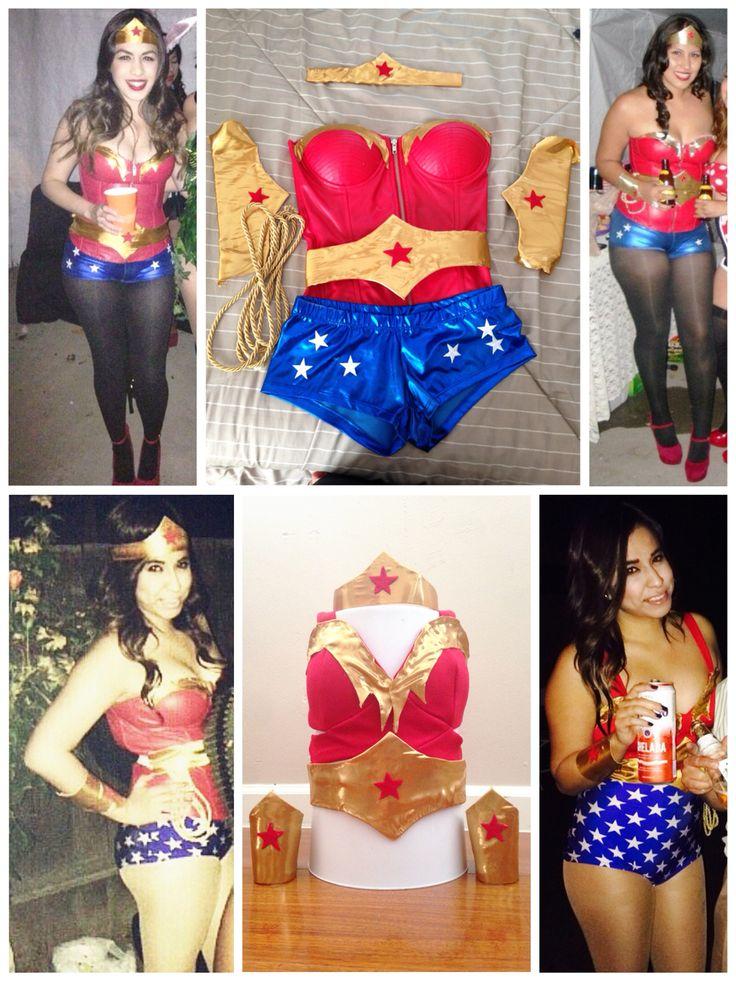 Wonder Woman Kostume Top