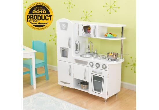 Toy Kitchens For Boys : Toy kitchens accessories kid kraft white vintage