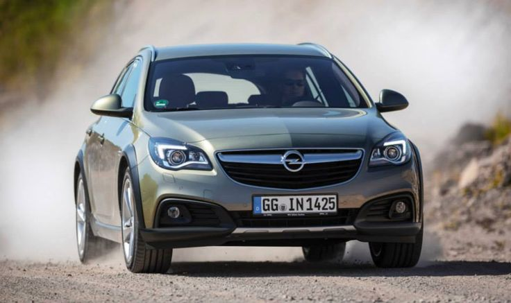 The new Opel Insignia Country Tourer