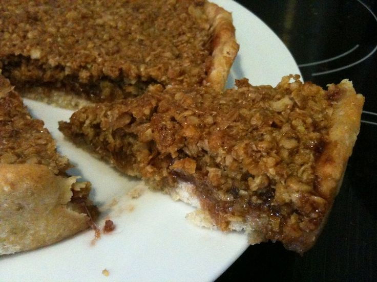 Double Ginger Almond British Flapjack Recipe — Dishmaps