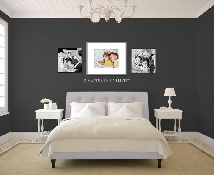2 20x20 Canvases And One 16x20 Print In 26x32 Frame With Mat Wall Displays For Your Bedroom