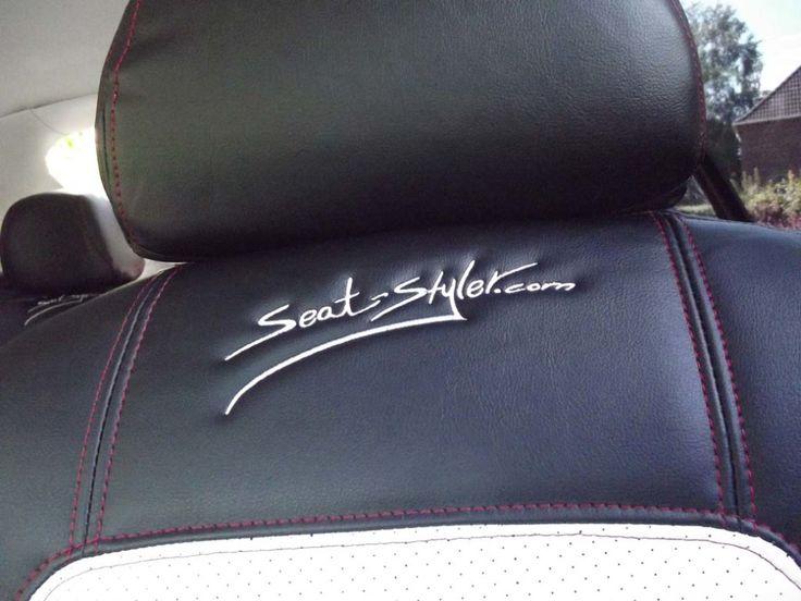 #SeatStyler #logo #white #seem #seatcovers #FORD #MERCEDES #AUDI #OPEL