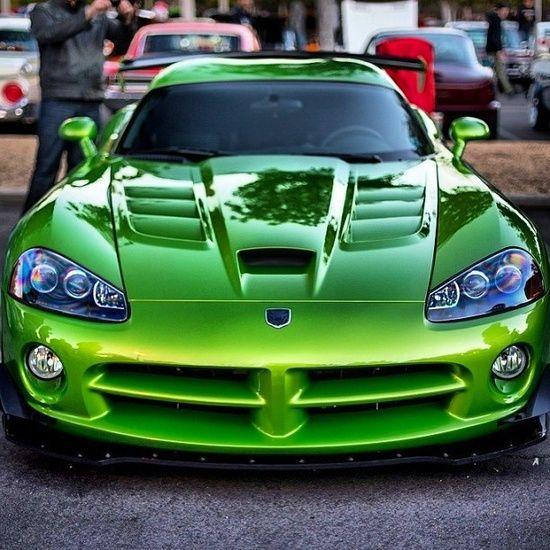 Vicious Venom Green Viper   http://luxury-sports-cars-vesta.blogspot.com