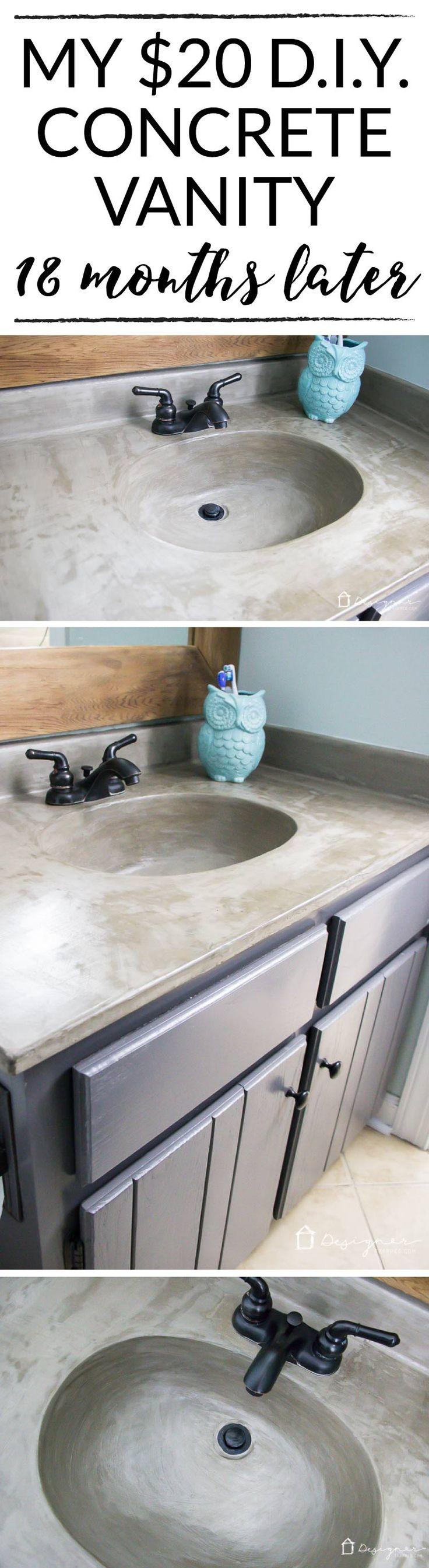 Concrete Sink Diy Best 25 Concrete Sink Ideas On Pinterest Concrete Design