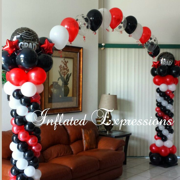 15 best images about graduations on pinterest creative for Balloon decoration graduation